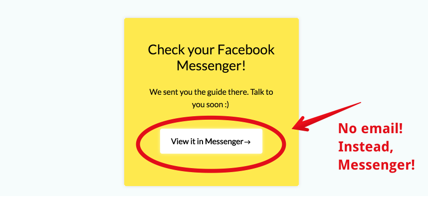 leface facebook messenger